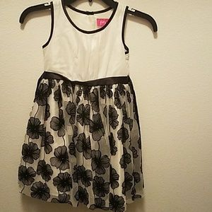 Black and white dress by Pinky